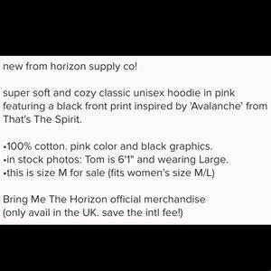 Horizon Supply Co Shirts - NEW Horizon Supply Co BMTH Hoodie